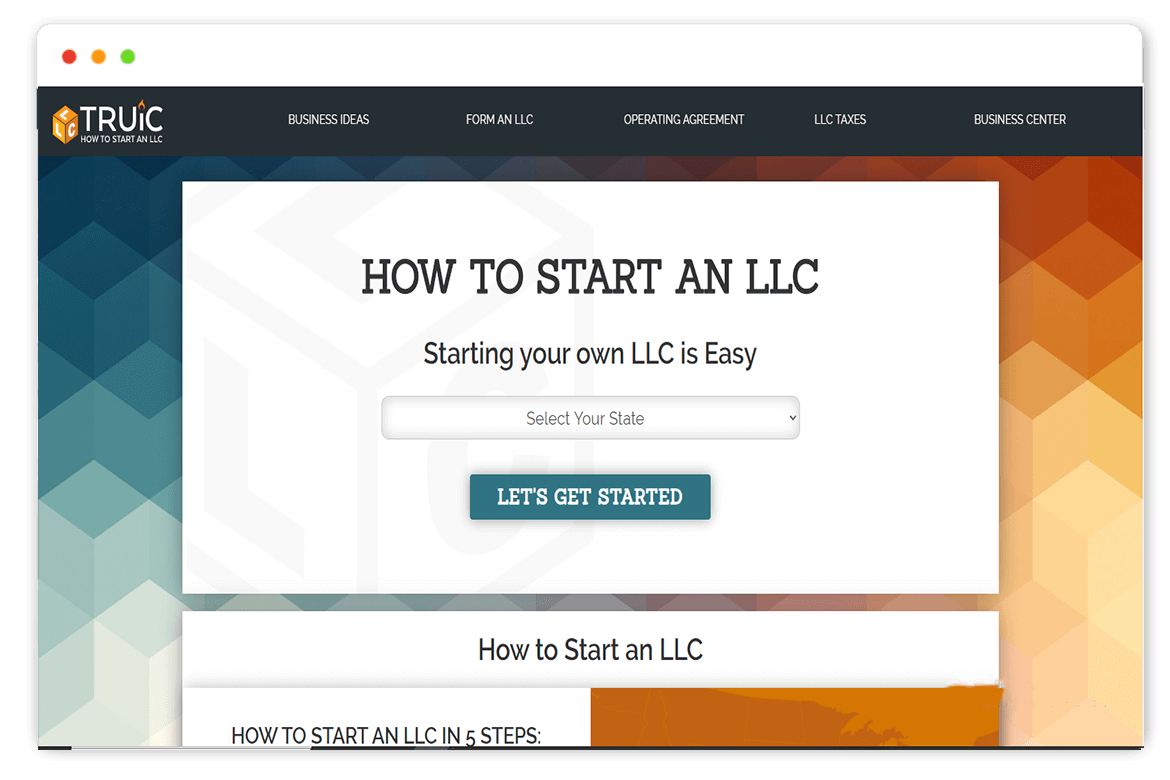 HOW TO START AN LLC website Design and web Develop by saintcode Vancouver Canada
