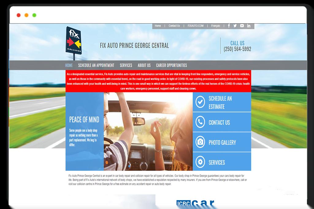 Website design and development , SaintCode Vancouver Canada